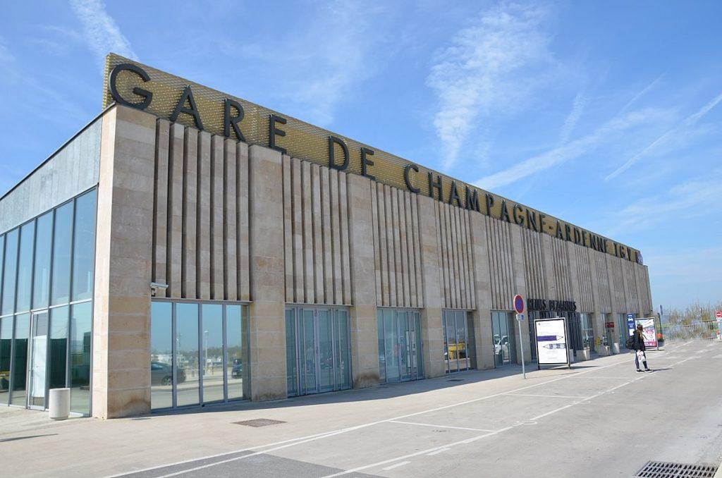 Gare Champagne VTC REIMS